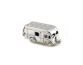 Sterling Silver Opening Horse Box Charm For Bracelets