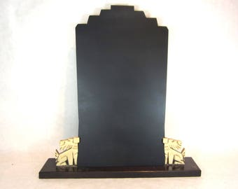 art deco 1920s scottie dogs French picture frame jewelry display