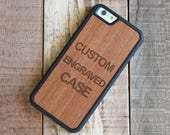 Custom iPhone 6 Case, Rosewood iPhone 6S Custom Case - FREE USA Shipping