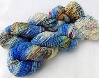 Handdyed SockYarn, 75 Wool, 25 Nylon 100g 3.5 oz. Nr. 917