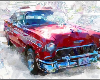 Classic Chevy BelAir Digital Download, 5 MB