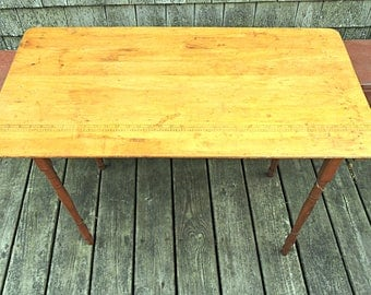 Folding Sewing Table Tailoru0027s Table Craft Table South Paris Maine Sewing  Room Wood Table Stowaway Sewing