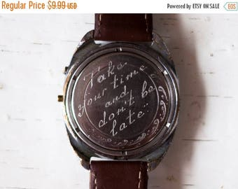 ON SALE Watch Engravable watch, Personalized watch, Engraved watch, Engraving watch, Mens watch, Mechanical watch ,Russian watch