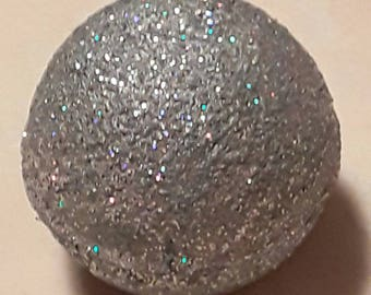 disco bath bombs, Bath fizzy, glitter bath bombs, coconut oil, silver, blue, glitter, weddings gifts, favors, wedding favor, gifts for her