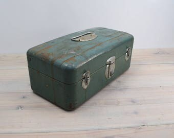 Metal Tackle box, Storage box, Union Steel Tool Chest