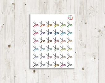 Haircut Planner Stickers - ECLP Stickers