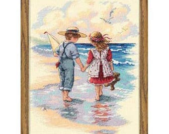 Cross Stitch Kit - Holding Hands
