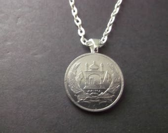 Afghanistan  Coin Necklace - Afghanistan  Coin Pendant