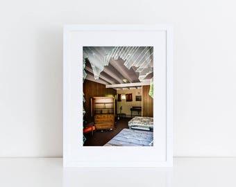 Motel Room - Urban Exploration - Fine Art Photography Print