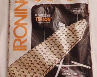 vintage reversible TEFLON IRONING BOARD Cover new in package