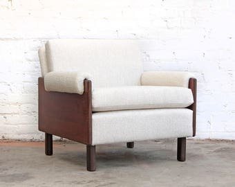 Rosewood Mid Century Lounge Chair