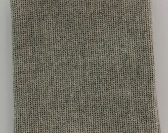 Seeded Natural Fat Quarter Yard, Felted Wool Fabric for Rug Hooking, Wool Applique & Crafts