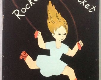 A Rocket in My Pocket, Susanne Suba, 1st Ed, BA, Rhymes Chants Young Americans, Hardcover Dustjacket, Rare, Lovely Condition! Display Gift