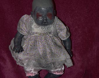 Ava (OOAK horror doll)
