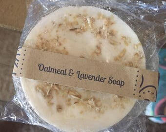 Calming Oatmeal & Lavender Soap