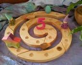 Beautiful Advent Birthday Spiral Waldorf Steiner