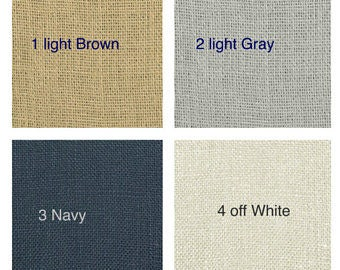 Burlap Curtains Sale Sale Sale two days ONLY All Natural
