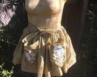 1950 style half apron.