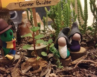 Add a cute Gnome couple and garden friend to your collection just let me know which # when ordering