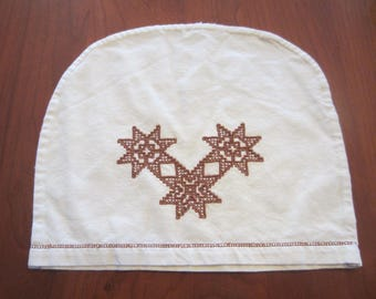 Vintage 1950s Embroidered Tea Cosy
