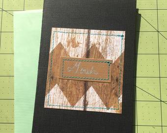 Gosh #2 - Greeting Card