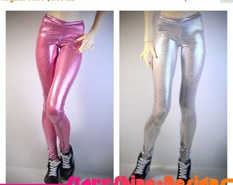 Thank You Sale 25% Off BJD SD13 1/3 Doll Clothing - Shimmer Leggings - Your Choice of 15 Colors
