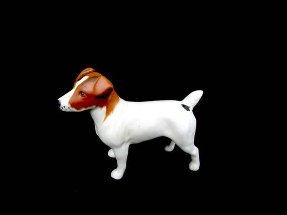 Beswick Fox Terrier Figurine, Dog Figurine, Made in England, Ships Free