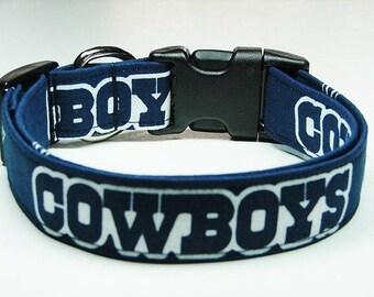 Dallas Cowboys Football Dog Collar