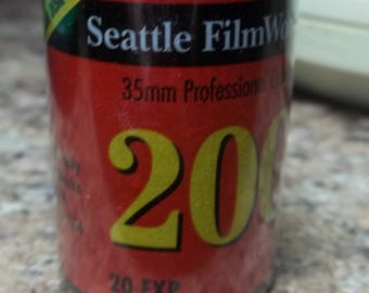 Seattle Filmworks 35 mm Professional Color Film roll