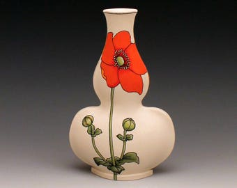 Japanese Anemone Vase