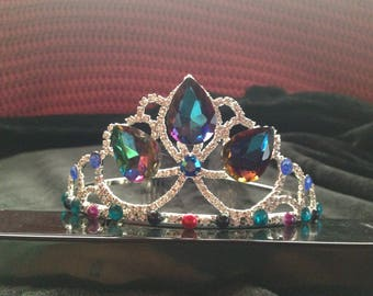 Dark Rapunzel inspired tiara