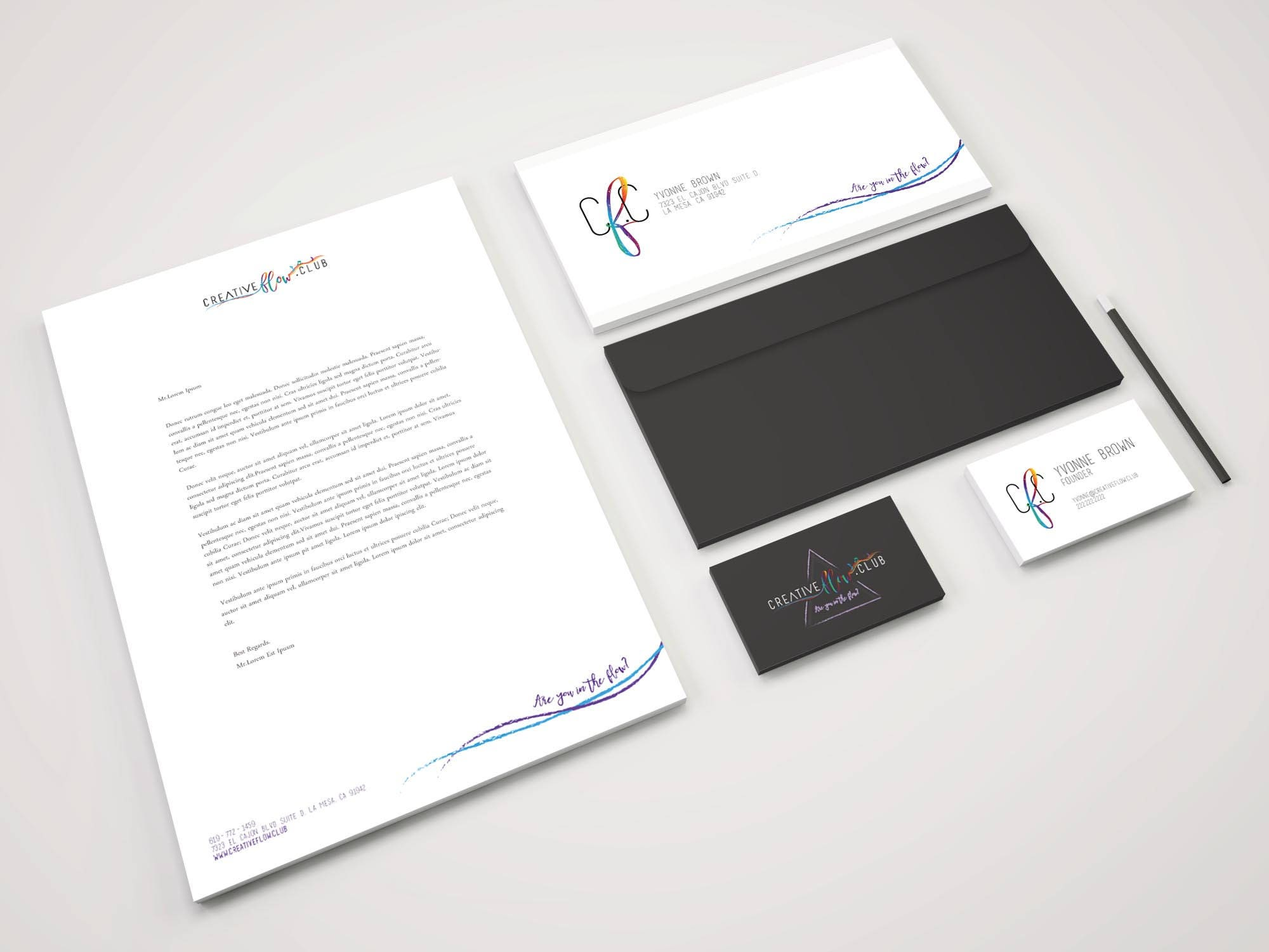 Business stationary business cards letterhead envelop business stationary business cards letterhead envelop reheart Image collections