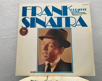 """Frank Sinatra - """"Greatest Hits"""" vinyl record"""