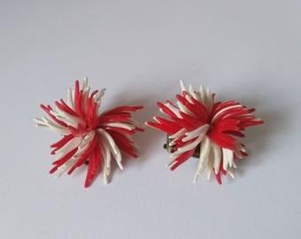 Vintage West Germany Earrings - Clip on Earrings of the 50's