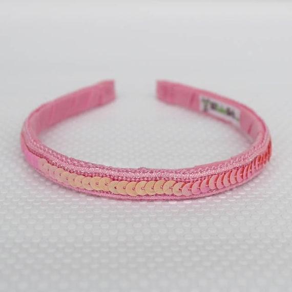 Pink Headband for Girls, Girls Headbands, Kids Headband, Birthday girls Headband, Flowers Girls Headband, Girls birthday