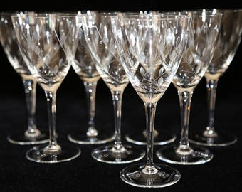 crystal wine glasses crystal water glasses cut crystal wine glass gray cut crystal