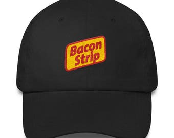 Bacon Strip Classic Dad Cap
