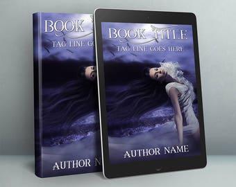fantasy woman book cover design