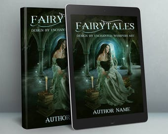 fairytale medieval woman fantasy premade cover ebook or paperback