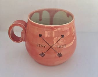 Porcelain Arrows Mug