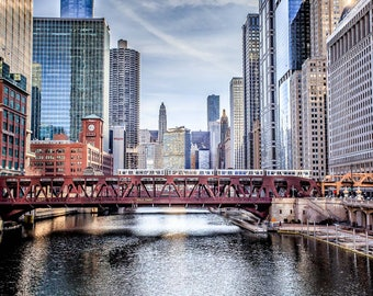 Chicago from the Chicago River