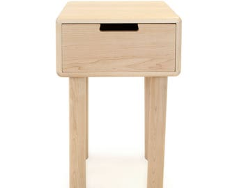 Nightstand No. 4 - A Simple Solid Wood Bedside Table