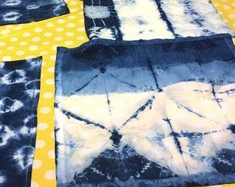 Custom Indigo Shibori Dyed Item