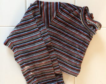 Vintage 90 striped pull med