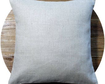 Pillow cover in linen - cushion - linen cushion - decorative pillow cover - linen Cushion cover