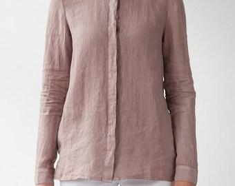 Woodrose Angelica Linen Shirt