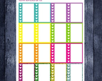 Summer To Do list stickers for erin condren life planner