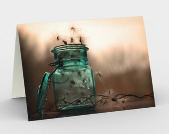 Still Life Cards, Blank Note cards, Ethereal Art Card, Greeting Cards, Three Note Cards, 5x7 Cards, Sepia Blank Card, All Occasion Cards