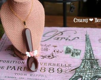 Choco Spoon Necklace