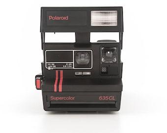 Polaroid Supercolor 635CL - Rare Polaroid 600 Made in Russia - Instant Camera Tested - Working Polaroid 600